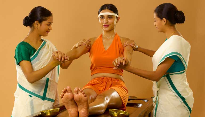 Abhyanga Ayurvedic Oil Massage kerala india