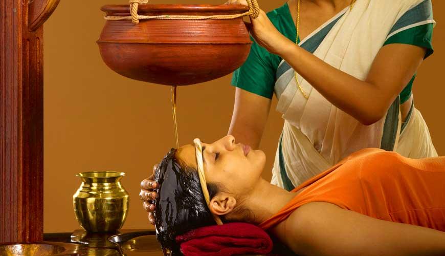 Shirodhara Ayurvedic Massage kerala india